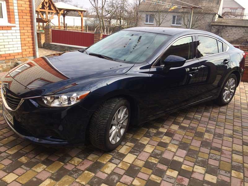 Mazda 6 2015 года, из США (Видео)