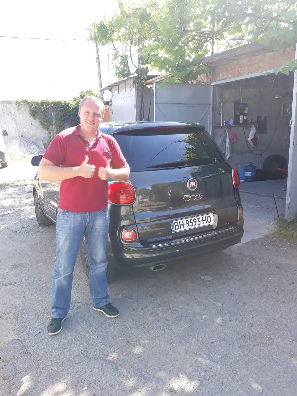 Відгук від власника Fiat 500L, авто з США