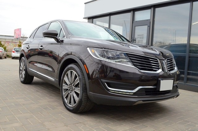 Lincoln MKX Black Label 2017