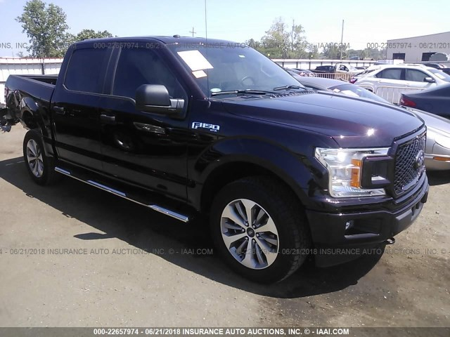 Ford F150 SuperCrew 2018
