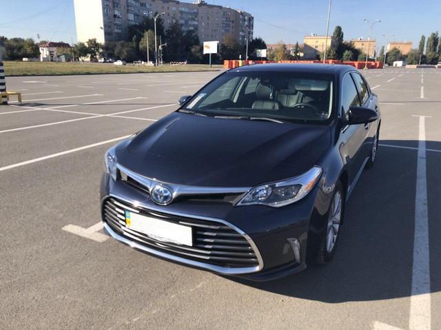 Toyota Avalon Limited Hybrid 2016